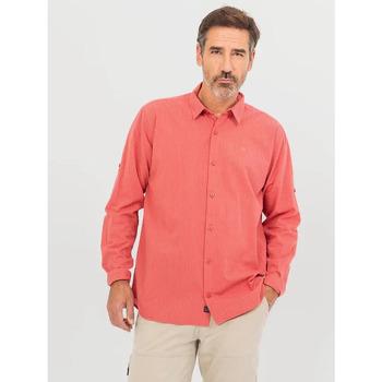 Vêtements Homme Chemises manches longues TBS GILLECHA Rose