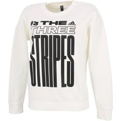 Vêtements Femme Sweats adidas Originals Mhe gr white sweat lady Blanc