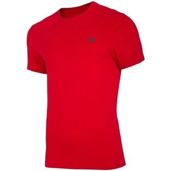 Vêtements Homme T-shirts manches courtes 4F TSM003 Rouge