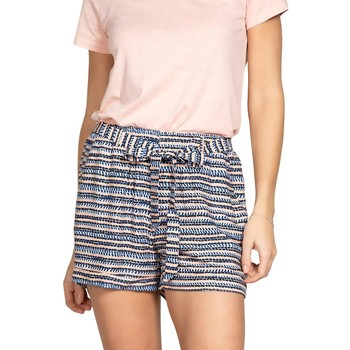 Vêtements Femme Shorts / Bermudas Deeluxe Short MALEA Print Blue Wave