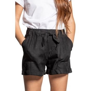 Vêtements Fille Shorts / Bermudas Deeluxe Short MERIDA Black