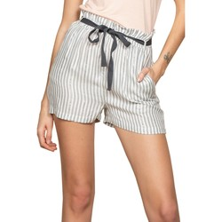 Vêtements Femme Shorts / Bermudas Deeluxe Short ARTEMIA Stripes Lurex