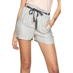 Vêtements Femme Shorts / Bermudas Deeluxe Short ARTEMIA Stripes Lurex