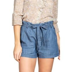 Vêtements Femme Shorts / Bermudas Deeluxe Short CARMEN Blue Denim