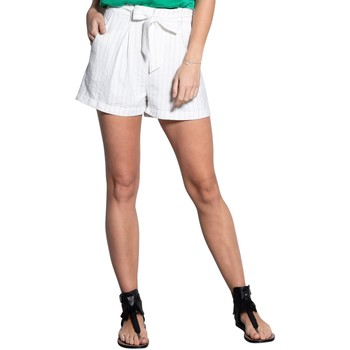 Vêtements Femme Shorts / Bermudas Deeluxe Short ALIX Off White