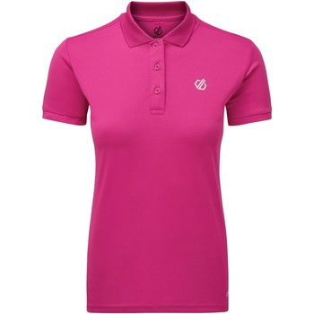 Vêtements Femme Polos manches courtes Dare 2b Polo Femme SET FORTH Rose