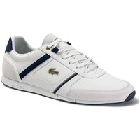 Chaussures Homme Baskets basses Lacoste Menerva 120 1 Cma Blanc