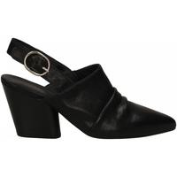 Chaussures Femme Sabots Mat:20 WEST nero-nero