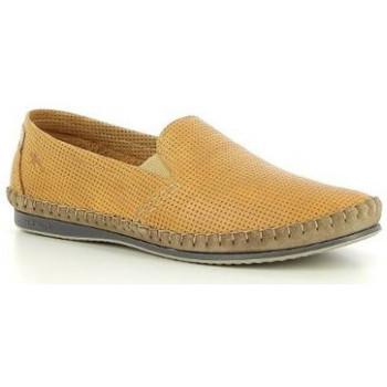 Chaussures Homme Mocassins Fluchos mocassin 8674 jaune