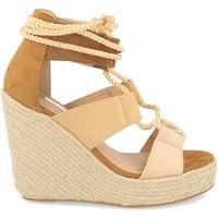 Chaussures Femme Sandales et Nu-pieds Buonarotti 1DB-0190 Camel