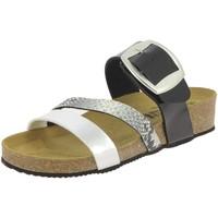 Chaussures Femme Mules La Maison De L'espadrille M3535 NOIR