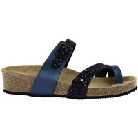 Chaussures Femme Sandales et Nu-pieds La Maison De L'espadrille 3530 bleu