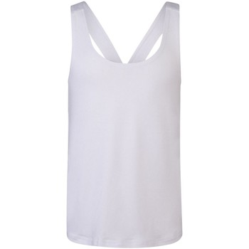 Vêtements Fille Débardeurs / T-shirts sans manche Skinni Fit SM241 Blanc