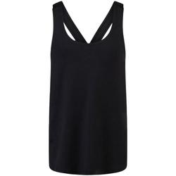 Vêtements Fille Débardeurs / T-shirts sans manche Skinni Fit SM241 Noir