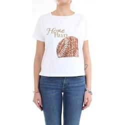 Vêtements Femme T-shirts manches courtes Pennyblack 29710220 T-Shirt/Polo femme blanc blanc