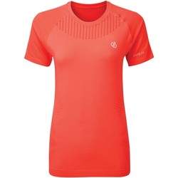 Vêtements Femme T-shirts manches courtes Dare 2b T-shirt Femme SEAMLESS Orange