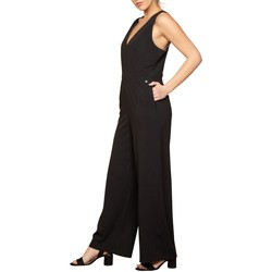 Vêtements Femme Combinaisons / Salopettes Deeluxe Combinaison EDITA Black