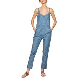 Vêtements Femme Combinaisons / Salopettes Deeluxe Combinaison CLOTHILDE Blue Denim