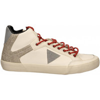 Chaussures Homme Baskets mode Guess STATEMENT HI white