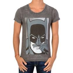 Vêtements Garçon T-shirts manches courtes Eleven Paris Manches Courtes Batman SS Devoured Black Noir