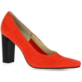 Chaussures Femme Escarpins Vidi Studio Escarpins cuir velours  cail Corail