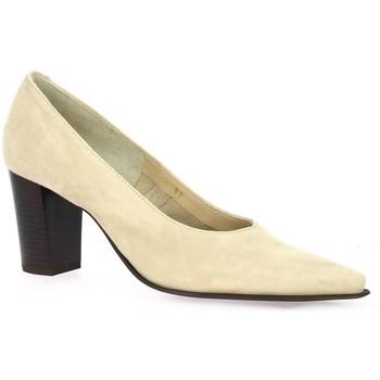 Chaussures Femme Escarpins Vidi Studio Escarpins cuir velours Beige