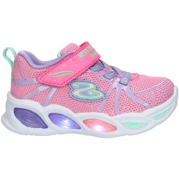 Chaussures Enfant Baskets basses Skechers 302042 Rose