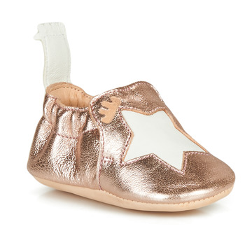 Chaussures Fille Chaussons Easy Peasy BLUMOO ETOILE Rose Gold