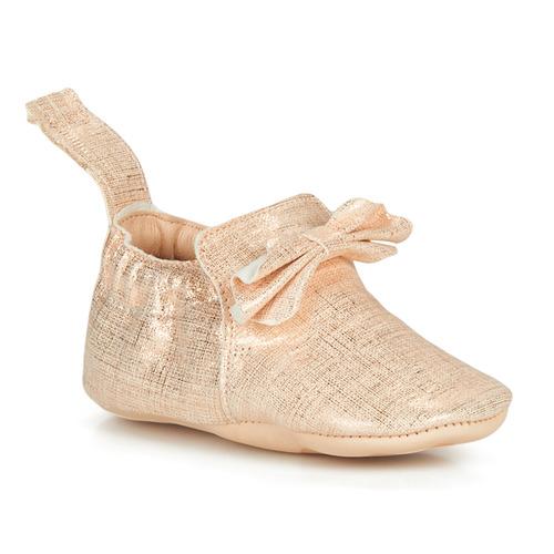 Chaussures Enfant Chaussons Easy Peasy BLUMOO NOEUD Rose
