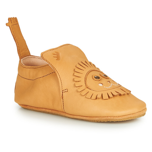 Chaussures Enfant Chaussons Easy Peasy BLUBLU LION Cognac