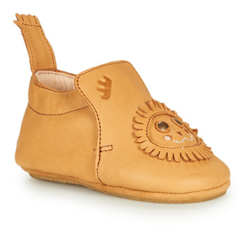 Chaussures Enfant Chaussons Easy Peasy BLUBLU LION Cognac