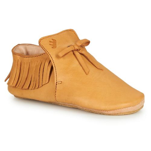 Chaussures Enfant Chaussons Easy Peasy MEXIBLU Cognac