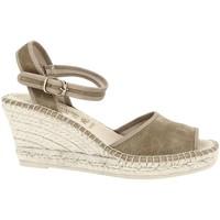 Chaussures Femme Sandales et Nu-pieds La Maison De L'espadrille 250 Marron