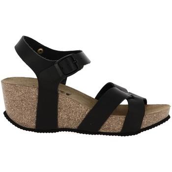 Chaussures Femme Sandales et Nu-pieds La Maison De L'espadrille 3547 noir