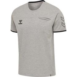 Vêtements Homme T-shirts manches courtes Hummel T-shirt  Cima gris anthracite/noir