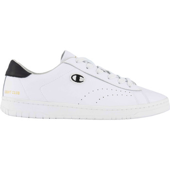 Chaussures Homme Baskets mode Champion Court Club Patch Weiss