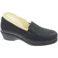 Chaussures Femme Mocassins Calzaturificio Loren LOK4013bl blu