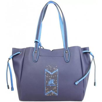 Sacs Femme Cabas / Sacs shopping Jacques Esterel Sac cabas  déco rivets JE CKL Marine Multicolor