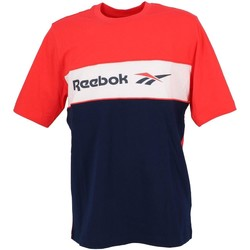 Vêtements Homme T-shirts manches courtes Reebok Sport Linear red nv mc tee Rouge