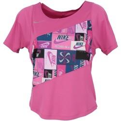 Vêtements Femme Tops / Blouses Nike Running top femme mode Rose