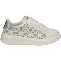 Chaussures Fille Baskets basses Asso AG-5407 BLANC