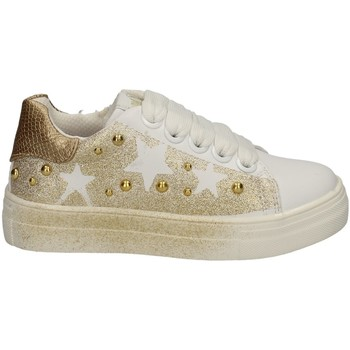 Chaussures Fille Baskets basses Asso AG-5304 BLANC