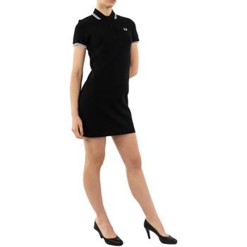 Vêtements Femme Robes courtes Fred Perry d3600 350 black noir