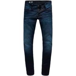 Vêtements Homme Jeans slim G-Star Raw REVEND SKINNY DK AGED bleu