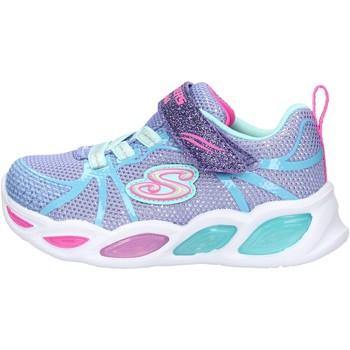 Chaussures Garçon Baskets basses Skechers - Shimmer beams viola 302042N PWMT VIOLA