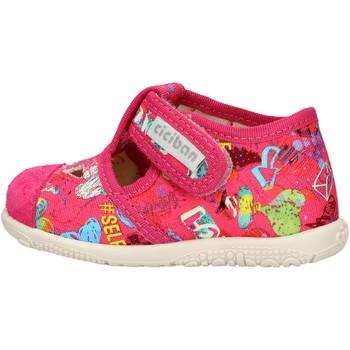 Chaussures Garçon Baskets basses Balocchi - Pantofola fuxia 10433 FUXIA