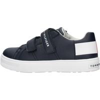 Chaussures Garçon Baskets basses Tommy Hilfiger - Sneaker blu T3B4-30719 BLU