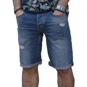 Vêtements Homme Shorts / Bermudas Fred Mello SHORT BLU Bleu