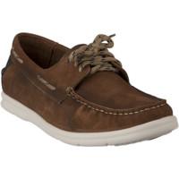 Chaussures Homme Chaussures bateau First Collective Bateau homme -  - Marron - 40 MARRON