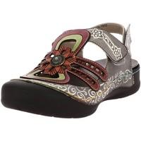 Chaussures Femme Sandales et Nu-pieds Laura Vita BECZIERSO 05 GRIS